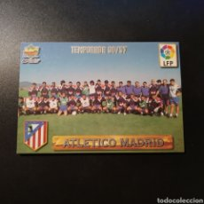Cromos de Futebol: CROMO - Nº 1 - PLANTILLA - ATLETICO MADRID - LAS FICHAS DE LA LIGA 1996-97 - MUNDICROMO. Lote 191421955