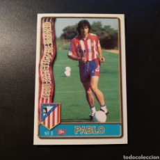 Cromos de Futebol: CARD - Nº 8 - PABLO (ULTIMA HORA) - ATLETICO MADRID - LAS FICHAS DE LA LIGA 1996-97 - MUNDICROMO. Lote 191422216