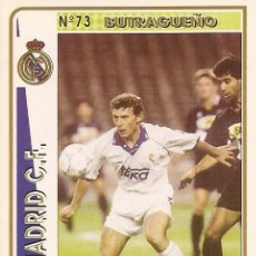 Cartes à collectionner de Football: 1994-1995 - 73 BUTRAGUEÑO - REAL MADRID - MUNDICROMO - 18. Lote 191530898
