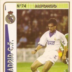 Cartes à collectionner de Football: 1994-1995 - 74 ALFONSO - REAL MADRID - MUNDICROMO - 32. Lote 191532032