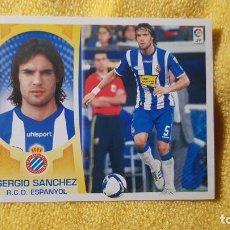 Cromos de Fútbol: SERGIO. ESPAÑOL. LIGA ESTE 09/10. 2009/2010. SIN PEGAR. Lote 191539552