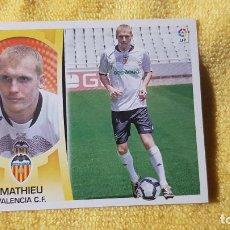 Cromos de Fútbol: MATHIU. VALENCIA. LIGA ESTE 09/10. 2009/2010. SIN PEGAR. Lote 191539638