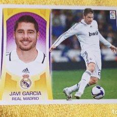 Cromos de Fútbol: JAVI GARCIA. REAL MADRID. LIGA ESTE 09/10. 2009/2010. SIN PEGAR. Lote 191539880
