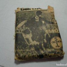 Cromos de Fútbol: MAGNIFICO SOBRE VACIOS DE FUTBOL ESTE TEMPORADA 1974-75. Lote 191688076