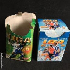 Cromos de Fútbol: LOTE 2 CAJAS CROMOS LIGA 2004-2005 2009-2010 ESTE FUTBOL. Lote 191867967