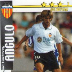 Cromos de Fútbol: ANGULO (VALENCIA C.F.) - FUTBOL MATCH TOTAL - LIGA 2002/2003 - MAGIC BOX INT.. Lote 191993193