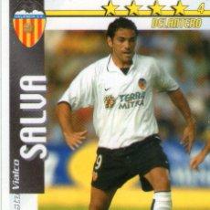 Cromos de Fútbol: SALVA (VALENCIA C.F.) - FUTBOL MATCH TOTAL - LIGA 2002/2003 - MAGIC BOX INT.. Lote 191993250
