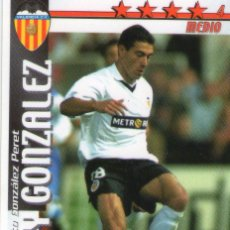 Cromos de Fútbol: KILY GONZALEZ (VALENCIA C.F.) - FUTBOL MATCH TOTAL - LIGA 2002/2003 - MAGIC BOX INT.. Lote 191993487
