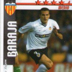 Cromos de Fútbol: BARAJA (VALENCIA C.F.) - FUTBOL MATCH TOTAL - LIGA 2002/2003 - MAGIC BOX INT.. Lote 191993557
