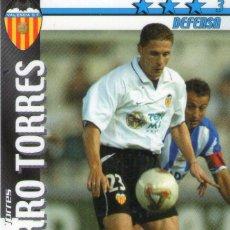Cromos de Fútbol: CURRO TORRES (VALENCIA C.F.) - FUTBOL MATCH TOTAL - LIGA 2002/2003 - MAGIC BOX INT.. Lote 191993725