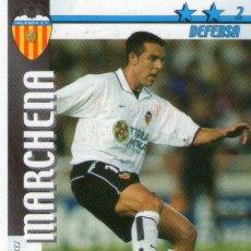Cromos de Fútbol: MARCHENA (VALENCIA C.F.) - FUTBOL MATCH TOTAL - LIGA 2002/2003 - MAGIC BOX INT.. Lote 191993840