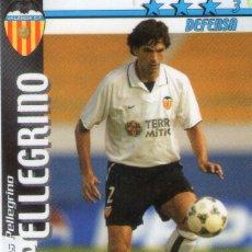 Cromos de Fútbol: PELLEGRINO (VALENCIA C.F.) - FUTBOL MATCH TOTAL - LIGA 2002/2003 - MAGIC BOX INT.. Lote 191994068