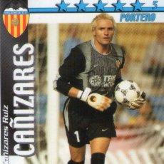 Cromos de Fútbol: CAÑIZARES (VALENCIA C.F.) - FUTBOL MATCH TOTAL - LIGA 2002/2003 - MAGIC BOX INT.. Lote 191994168
