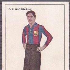 Figurine di Calcio: POSTAL CROMO F.C.BARCELONA AÑOS 20 SAGI-BARBA. Lote 192327113
