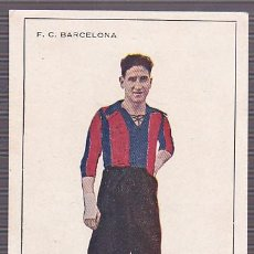 Figurine di Calcio: POSTAL CROMO F.C.BARCELONA AÑOS 20 SURROCA. Lote 192327143