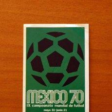Figurine di Calcio: MÉXICO 86 - Nº 12 - EDITORIAL PANINI 1986 - NUNCA PEGADO. Lote 192362760