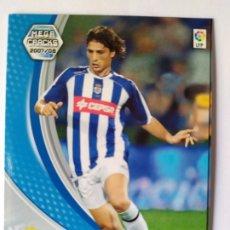 Cromos de Fútbol: MEGACRACKS 2007 2008 PANINI JESÚS VÁZQUEZ N° 262 RECREATIVO HUELVA. Lote 245157835