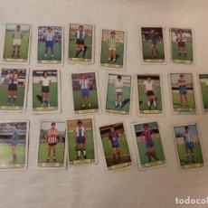 Cromos de Fútbol: FUTBOL, EDICIONES ESTE, LIGA 79-80, LOTE DE 19 CROMOS, DESPEGADOS. Lote 192497212