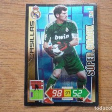 Cromos de Futebol: ADRENALYN LIGA 2012 2013 PANINI Nº 436 IKER CASILLAS (REAL MADRID) SUPER CRACK - FUTBOL 12 13. Lote 194210255