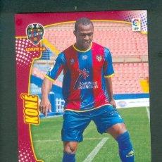 Cromos de Fútbol: MEGACRACKS 2011 2012 11 12 PANINI. KONE Nº 143 BIS FICHAJE (LEVANTE) MGK. Lote 194214198