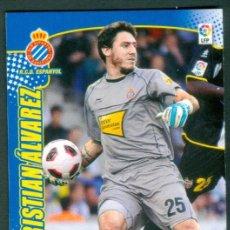 Cromos de Fútbol: MEGACRACKS 2011 2012 11 12 PANINI. CRISTIAN ALVAREZ Nº 74 BIS FICHAJE (ESPAÑOL) MGK. Lote 194215483