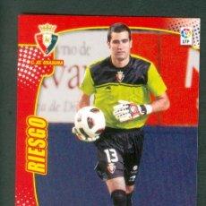 Cromos de Fútbol: MEGACRACKS 2011 2012 11 12 PANINI. RIESGO Nº 200 BIS FICHAJE (OSASUNA) MGK. Lote 194215707