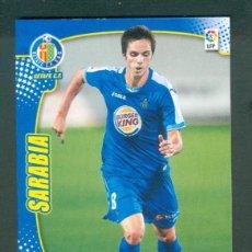 Cromos de Fútbol: MEGACRACKS 2011 2012 11 12 PANINI. SARABIA Nº 106 BIS FICHAJE (GETAFE) MGK. Lote 194216061