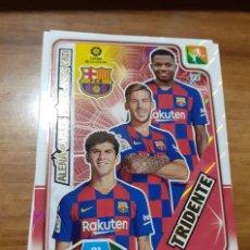 Cromos de Fútbol: TRADING CARD ADRENALYN 2019/2020, EDITORIAL PANINI, EQUIPO F.C. BARCELONA (TRIDENTE), SIN ACTIVAR. Lote 194233931