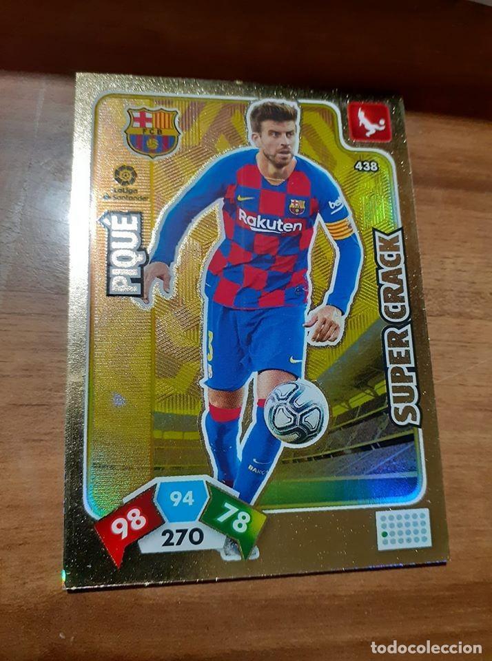 TRADING CARD ADRENALYN 2019/2020, EDITORIAL PANINI, JUGADOR PIQUÉ (SUPER CRACK), SIN ACTIVAR (Coleccionismo Deportivo - Álbumes y Cromos de Deportes - Cromos de Fútbol)