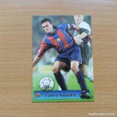 Cromos de Fútbol: 140 SUPERSTARS LUIS ENRIQUE FC BARCELONA MUNDICROMO TOP 2001 2002 CROMO FUTBOL LIGA 01 02. Lote 194245416