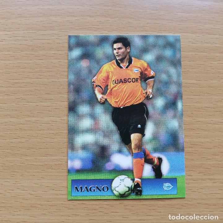 141 SUPERSTARS MAGNO DEPORTIVO ALAVES MUNDICROMO TOP 2001 2002 CROMO FUTBOL LIGA 01 02 (Coleccionismo Deportivo - Álbumes y Cromos de Deportes - Cromos de Fútbol)