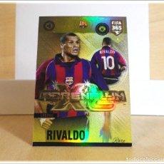 Cromos de Fútbol: ADRENALYN XL FIFA 365 2018 2019 18 19 PANINI RIVALDO Nº 2 LEGEND BARCELONA BRASIL CARD FÚTBOL RARE. Lote 194252813