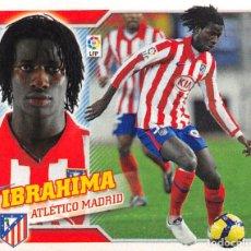 Cromos de Fútbol: EDICIONES ESTE 10/11 2010/2011 #14B IBRAHIMA (ATLETICO MADRID) SIN PEGAR. Lote 194265533