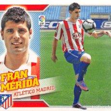 Cromos de Fútbol: EDICIONES ESTE 10/11 2010/2011 #12 FRAN MERIDA (ATLETICO MADRID) SIN PEGAR. Lote 194265610