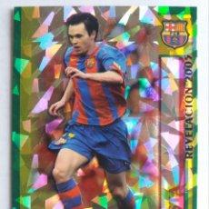Cromos de Fútbol: 26 REVELACIÓN 2005 INIESTA (TRIANGULOS) - F.C. BARCELONA - MUNDICROMO 2006. Lote 194271223