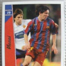 Cromos de Fútbol: 19 MESSI - F.C. BARCELONA - MUNDICROMO 2007. Lote 194271285