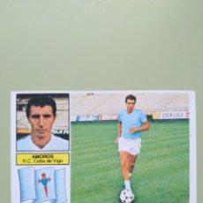 Cromos de Fútbol: CROMO FICHAJE 21 AMORÓS LIGA ESTE 82 83 1982 1983. Lote 194287363