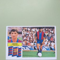Cromos de Fútbol: CROMO URBANO LIGA ESTE 82 83 1982 1983. Lote 194287850