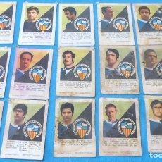 Cromos de Fútbol: 16 CROMOS , C D. SABADELL. AÑO 1970, EDITORIAL FHER. Lote 194289136