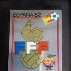 Cromos de Fútbol: CROMO PANINI MUNDIAL ESPAÑA 82 - NÚMERO 274 - ESCUDO FRANCIA - SIN PEGAR. Lote 194292736