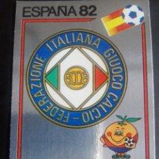 Cromos de Fútbol: CROMO PANINI MUNDIAL ESPAÑA 82 - NÚMERO 36 - ESCUDO ITALIA - SIN PEGAR. Lote 194292770