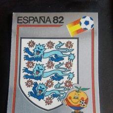 Cromos de Fútbol: CROMO PANINI MUNDIAL ESPAÑA 82 - NÚMERO 238 - ESCUDO INGLATERRA - SIN PEGAR. Lote 194292858