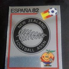 Cromos de Fútbol: CROMO PANINI MUNDIAL ESPAÑA 82 - NÚMERO 418 - ESCUDO NUEVA ZELANDA - SIN PEGAR. Lote 194293020