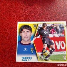 Cromos de Fútbol: ARMANDO CADIZ ED ESTE LIGA CROMO 05 06 FUTBOL 2005 2006 - SIN PEGAR - 715. Lote 194308378
