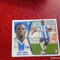Cromos de Fútbol: PAPE SARR ALAVES ED ESTE LIGA CROMO 05 06 FUTBOL 2005 2006 - SIN PEGAR - 719 BAJA. Lote 194308580