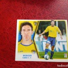 Cromos de Fútbol: BERRIZO CADIZ ED ESTE LIGA CROMO 05 06 FUTBOL 2005 2006 - SIN PEGAR - FICHAJE 16 - 720. Lote 194308721