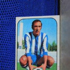 Cromos de Fútbol: EDICIONES ESTE 1976 1977 MACIAS MALAGA CF CROMO FUTBOL RECUPERADO VER ESTADO EN FOTO 76 77. Lote 194329170