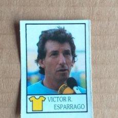 Cromos de Fútbol: CROMO Nº 61 VÍCTOR ESPÁRRAGO DE BOLLYCAO FÚTBOL 87-88.. Lote 194329185