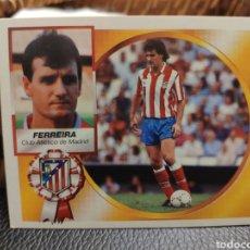 Cromos de Fútbol: CROMO EDICIONES ESTE TEMPORADA 94-95 FERREIRA COLOCA NUNCA PEGADO. Lote 194329317