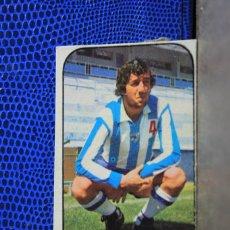 Cromos de Fútbol: EDICIONES ESTE 1976 1977 CARRION MALAGA CF CROMO FUTBOL RECUPERADO VER ESTADO EN FOTO 76 77. Lote 194329322